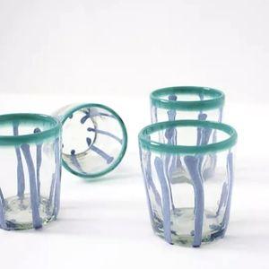 NIB Anthro Set/4 Garcelle Juice Glasses